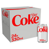 Diet Coke 24 x 330ml