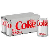 Diet Coke 8 x 330ml