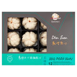 Dim Sum Chef Dim Sum BBQ Pork Bun 12 Pieces 600g