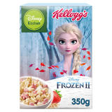 Disney Kitchen Frozen II Strawberry Flavour Multi-Grain Shapes Cereal 350g