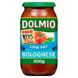 Dolmio Bolognese Low Fat Pasta Sauce 500g