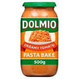 Dolmio Pasta Bake Creamy Tomato Pasta Sauce 500g