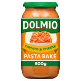 Dolmio Pasta Bake Tomato and Cheese Pasta Sauce 500g