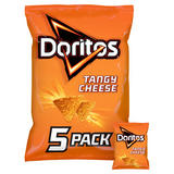 Doritos Tangy Cheese Multipack Tortilla Chips 5x30g