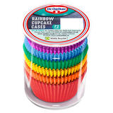 Dr. Oetker 72 Rainbow Cupcake Cases