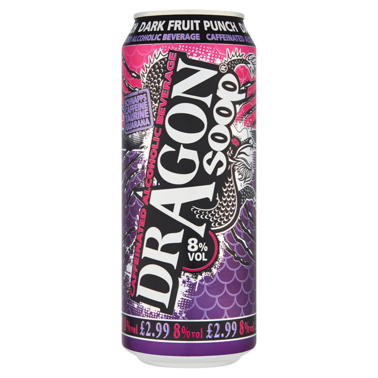 Dragon Soop Dark Fruit Punch Caffeinated Alcoholic