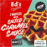 Ed's Diner Microwavable 2 Waffles with Salted Caramel Sauce 121g