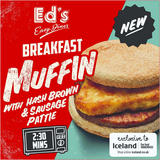 Ed's Diner Microwavable Breakfast Muffin 170g