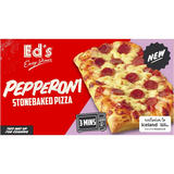 Ed's Diner Microwavable  Pepperoni Stonebaked Pizza 160g