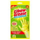 Elbow Grease Rubber Gloves Medium 1 Pair