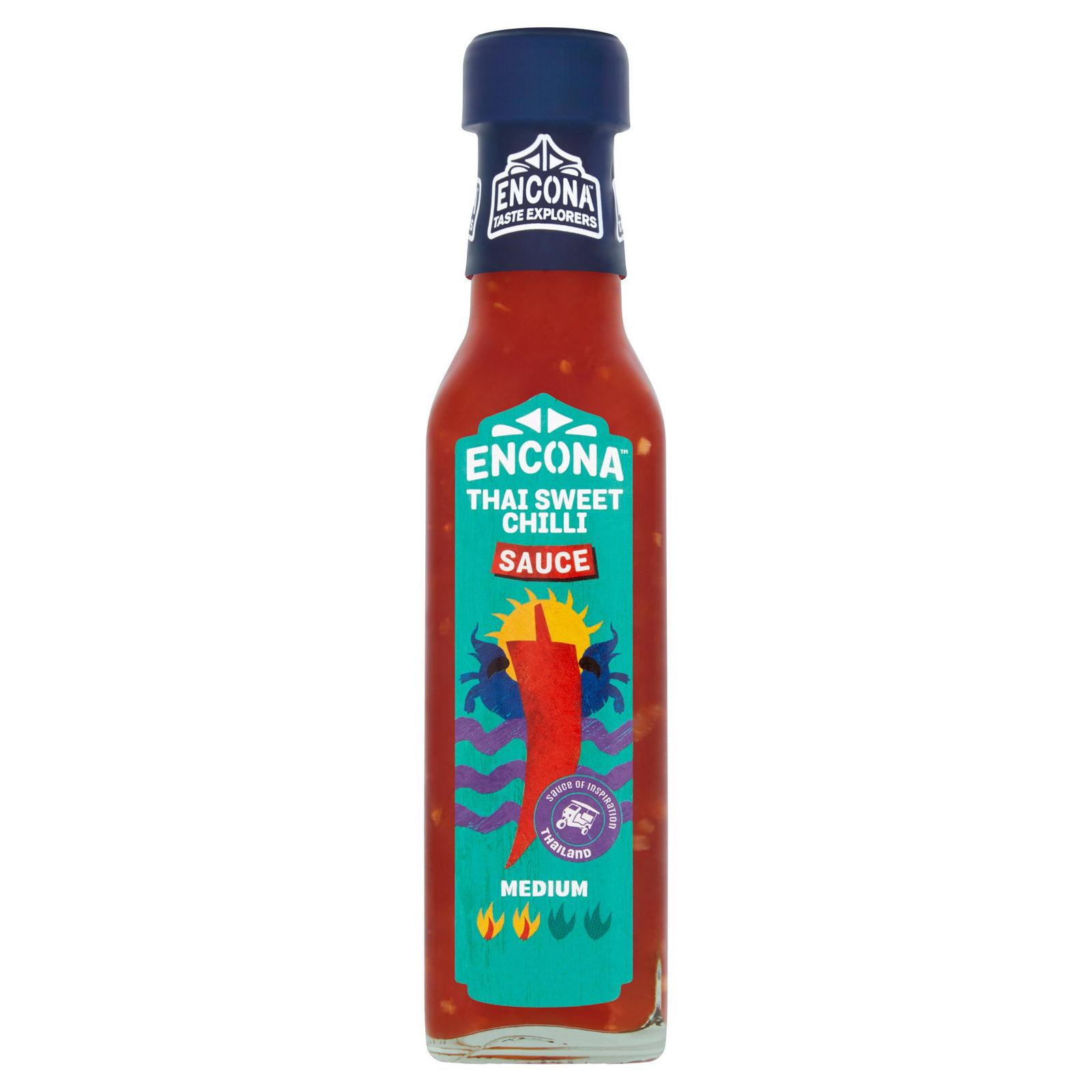 Encona Thai Sweet Chilli Sauce 165ml Bbq Chilli Marinades Iceland Foods