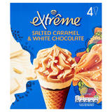 Extrême Salted Caramel & White Chocolate 4 x 120ml (480ml)