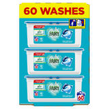 Fairy Non Bio Pods Washing Liquid Capsules 60 Washes, Voted #1 for Sensitive Skin