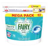 Fairy Non Bio Pods Washing Liquid Capsules 63 Washes