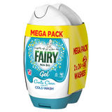 Fairy Non Bio Washing Liquid Gel 888ml 48 Washes, Voted #1 for Sensitive Skin