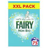 Fairy Non Bio Washing Powder 4.875KG, 75 Washes