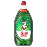 Fairy Original Washing Up Liquid Green with LiftAction. No Soaking, No Grease, No Fuss 1350ML