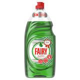 Fairy Platinum Quickwash Original Washing Up Liquid With Up To 3X Faster Tough Grease Cleaning 1.05l