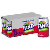 Fanta Fruit Twist Zero 8 x 330ml