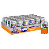 Fanta Orange Zero 24x 330ml