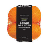 Farmer's Market Large Oranges 4Pack