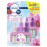 Febreze 3Volution Air Freshener Plug In Refill Blossom & Breeze Twin Pack 2x20ML