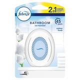 Febreze Bathroom, Continuous Air Freshener Odour Elimination & Prevention, Cotton Fresh 1 X