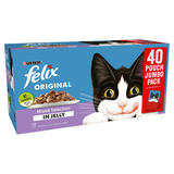 FELIX Mixed Selection In Jelly Wet Cat Food 40 x 100g