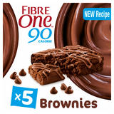 Fibre One 90 Calorie Chocolate Fudge High Fibre Brownies 5 x 24g