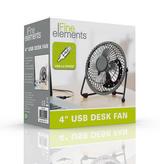 """Fine Elements 4"""" USB Fan"""
