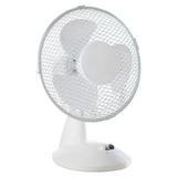 """Fine Elements Oscillating 9"""" Desk Fan"""