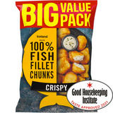 Iceland Made with 100% Fish Fillet Chunks Crispy 700g