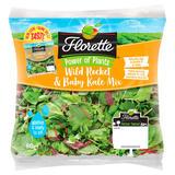 Florette Wild Rocket & Baby Kale Mix 80g
