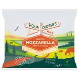 Four Crosses Grated Mozzarella 1kg