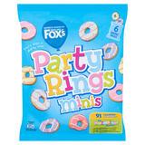Fox's Party Rings Minis 6 x 21g