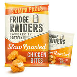 Fridge Raiders Slow Roasted Chicken Bites Mini Packs 3 x 22.5g