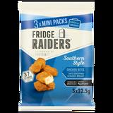 Fridge Raiders Southern Style Chicken Bites Mini Packs 3 x 22.5g
