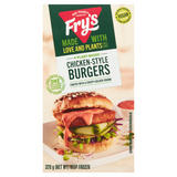 Fry's 4 Plant-Based Chicken-Style Burgers 320g