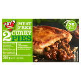 Fry's Meat Free 2 Curry Pies 350g