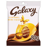 Galaxy Caramel Chocolate Easter Mini Eggs 80g