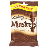 Galaxy Minstrels Chocolate Extra Free Treat Bag 100g
