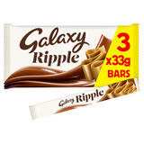 Galaxy Ripple Chocolate Bars Multipack 3 x 33g