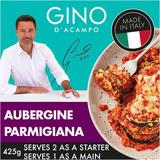 Gino  Aubergine Parmigiana With Mozzarella, Tomato & Basil Sauce 425g