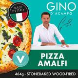 Gino Pizza Amalfi - Mozzarella, Sun Dried Tomatoes & Friarielli 464g