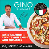 Gino Mixed Seafood in a White Wine Sauce with Tomatoes 400g