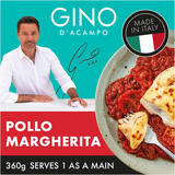 Gino Pollo Margherita - Chicken Breast With Cheese &Tomato Sauce 360g
