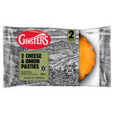 Ginsters 2 Cheese & Onion Pasties 260g