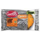 Ginsters 2 Vegan Quorn Pasties 260g
