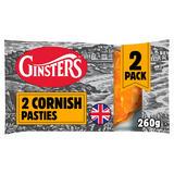 Ginsters 2pk Cornish Pasty 260g