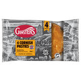 Ginsters 4 Cornish Pasties 520g